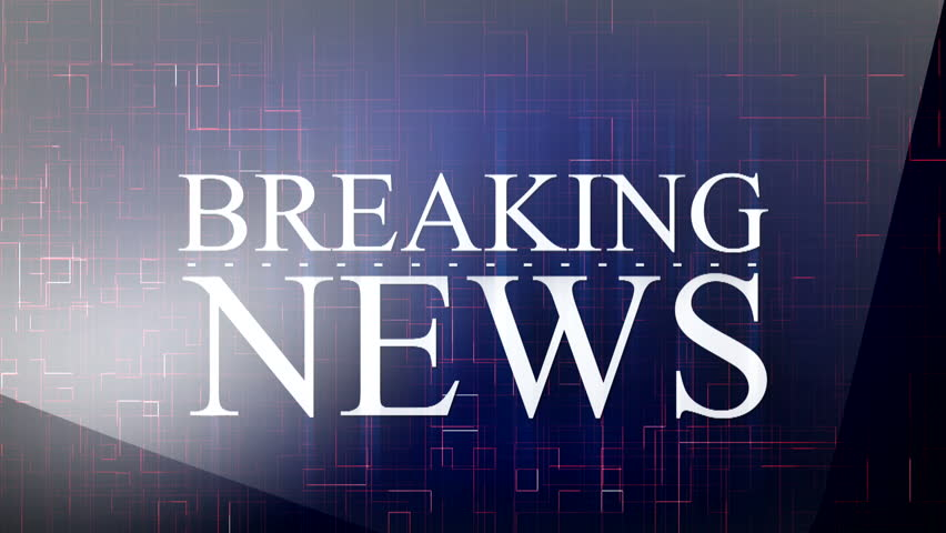 Breaking News Tv Screen Background Stock Footage Video 100 Royalty