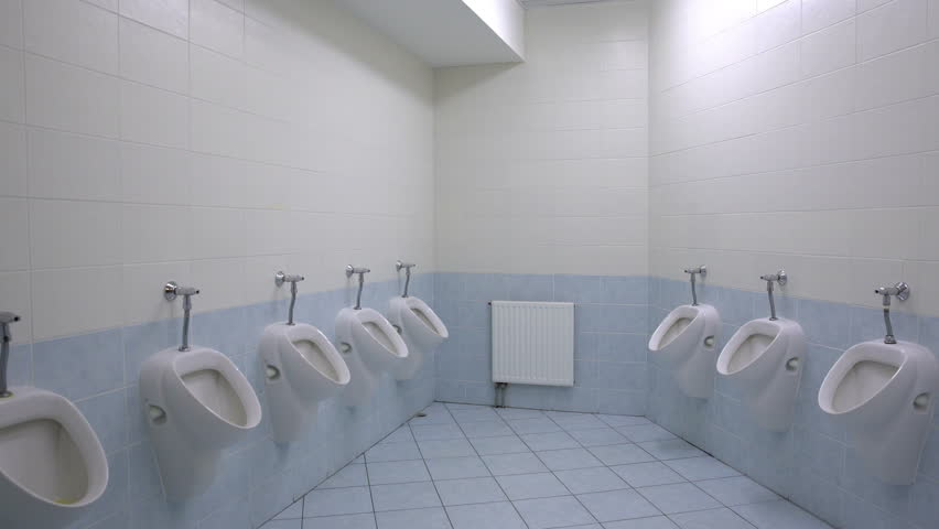 Gay restroom clips