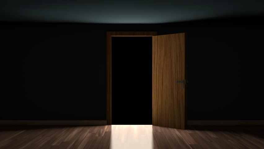 4K Door Opening with transparency (alpha channel). You can replace background. - & Digital Animation Of Door Opening To Light Stock Footage Video ... pezcame.com