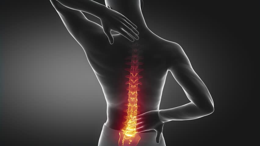 Pain in spine proceed to neck region