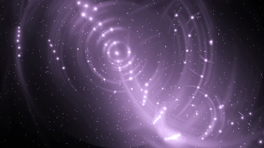 Heart Made Of Twinkling Stars In The Beautiful Night Sky