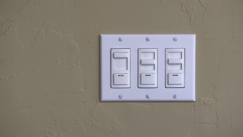 Save energy by installing a light dimming switch concept.