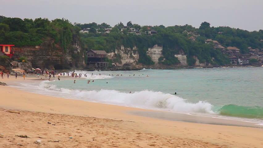 Dreamland Beach Now Known As New Kuta Beach Is Located On The Bukit Peninsula