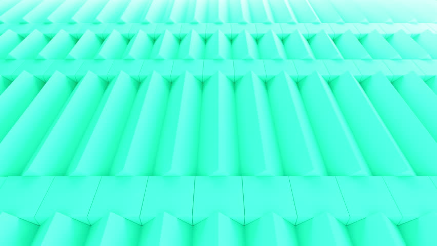 Abstract rectangular and box elements background with randomly rotated elements, 3d render or boxes and rectangles with fillet edges, loopable | Shutterstock HD Video #14660203