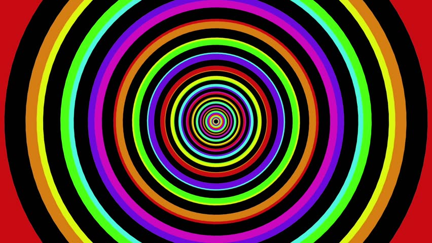 Colorful Background Rainbow, Rotating Spiral. 4k Animation ... - photo#46