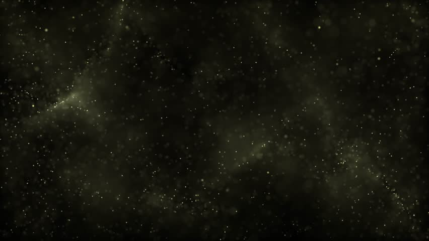 Royalty free stock footage and visuals featuring a smokey or foggy golden yellow bokeh orb shaped particle aurora motion background. For LED installations, club visuals, or creative editing projects. #14761027