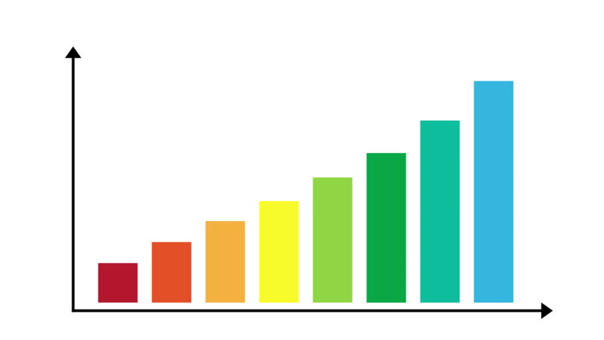 Bar graph growth animation stock footage video 14790427 shutterstock ccuart Images