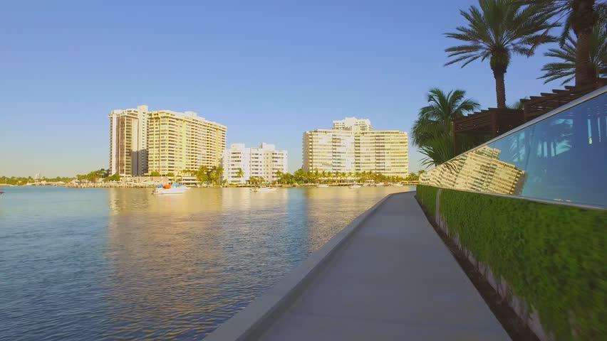 Biscayne Bay Path Miami | Shutterstock HD Video #14850745