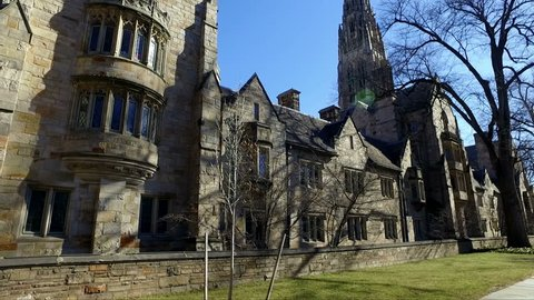 NEW HAVEN, CT - 2016: Yale Campus.