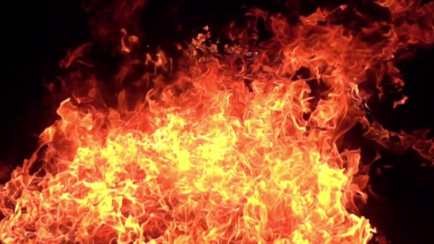 3D Stereoscopic Fire Set 18 L Eye 1000fps Slow Motion