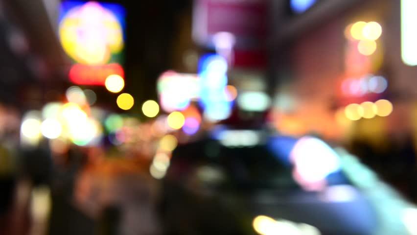 Night lights of the big city   Shutterstock HD Video #14978347