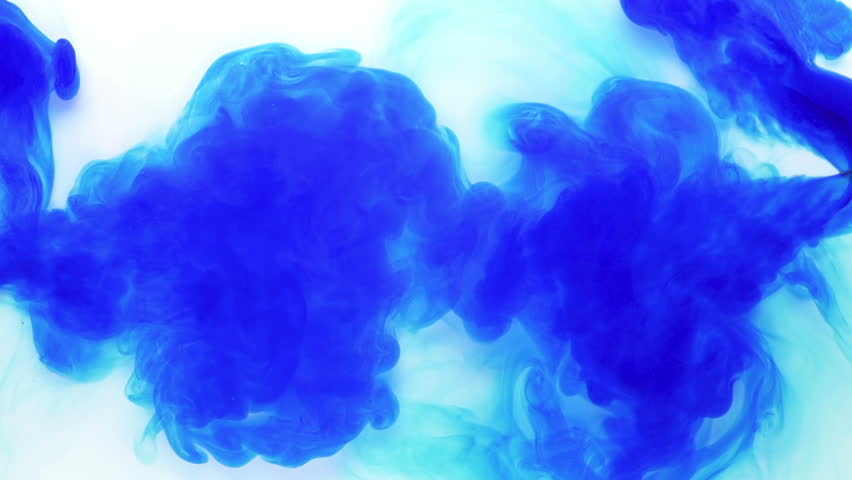 Colourful Blue Ink in Water Stock Footage Video (100% Royalty-free)  15247837 | Shutterstock
