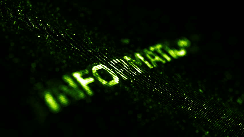 Computer theme word made of random dots on fractured string background with glow, abstract digital background with depth of field, particle style video | Shutterstock HD Video #15317365