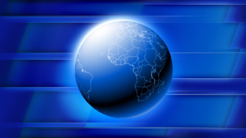 globe news background  seamless loop  hd1080p stock