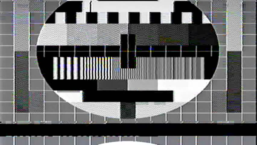 Tv test card Footage #page 7 | Stock Clips