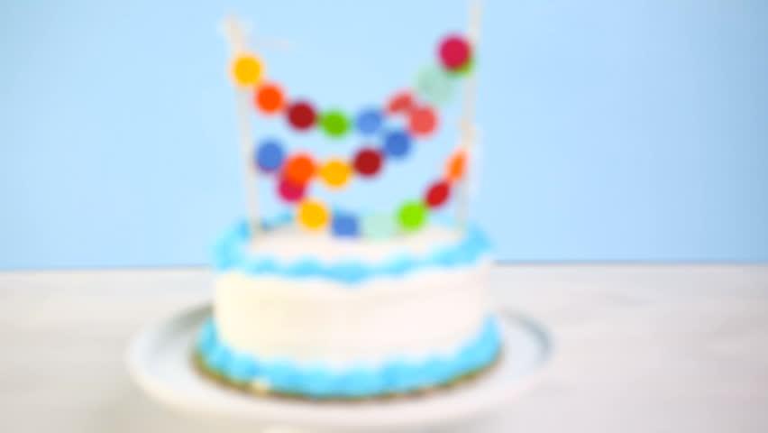 Birthday cake tube shots