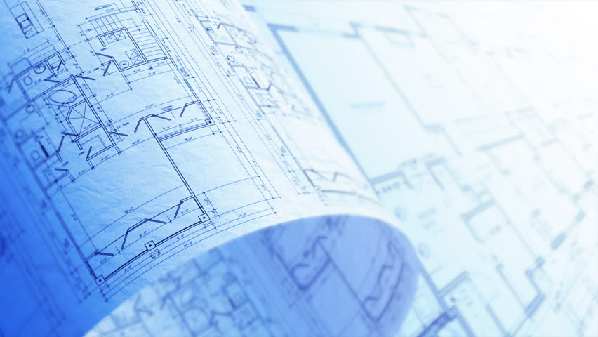 Architectural drafting blueprint background loop stock footage blueprint background loop stock footage video 15725287 shutterstock malvernweather Choice Image