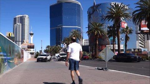 Las Vegas, Nevada United States Stock Footage Video (100