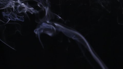 Flowing Swirling Tendrils of Smoke