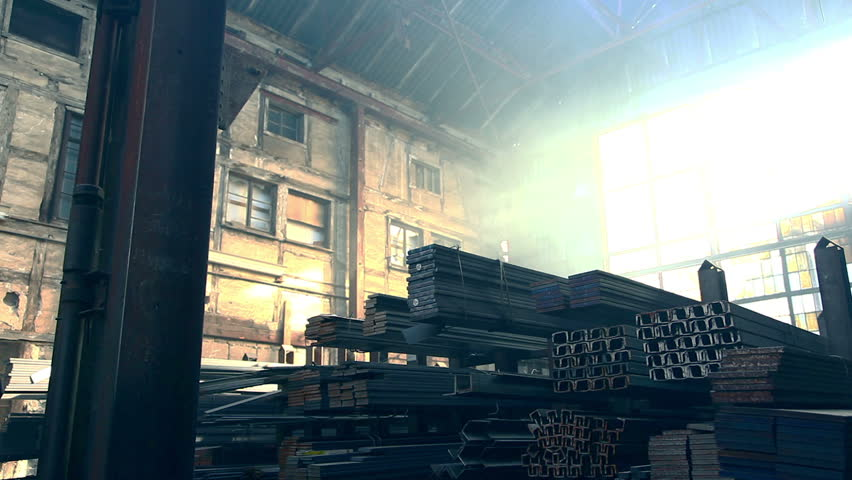 Special Forces in warehouse