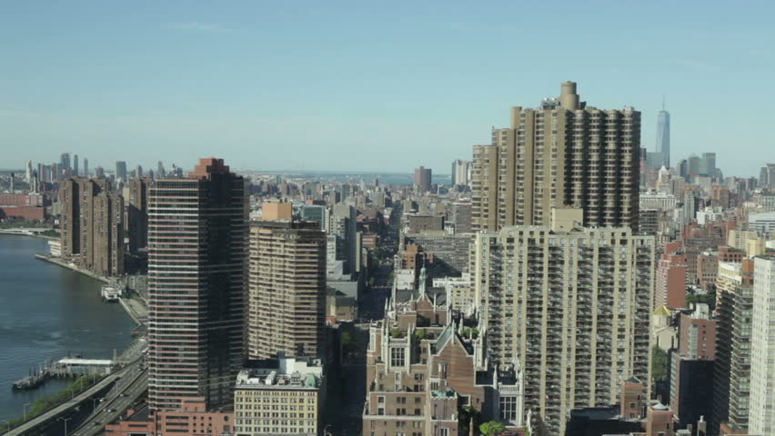 Time lapse of the Midtown Manhattan and East River in New York City, USA. | Shutterstock HD Video #15925987