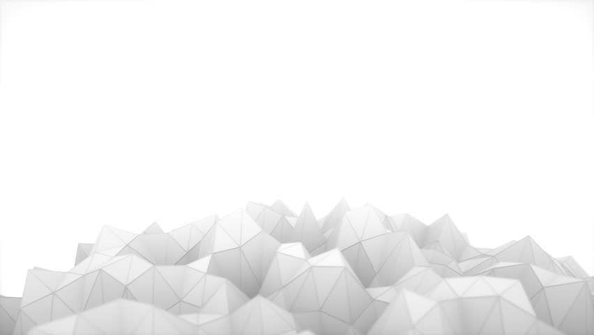 Stock Video Of Abstract Black And White Low Poly