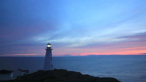 Cape Spear lighthouse, Newfoundland, Canada.