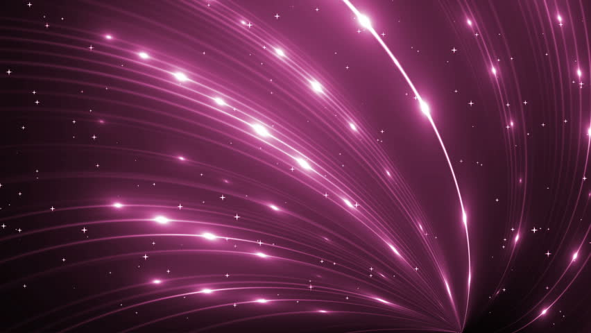 Abstract Pink Background With Rays Sparkles. Animation pink background with rays and sparkles. Seamless loop. | Shutterstock HD Video #16100137