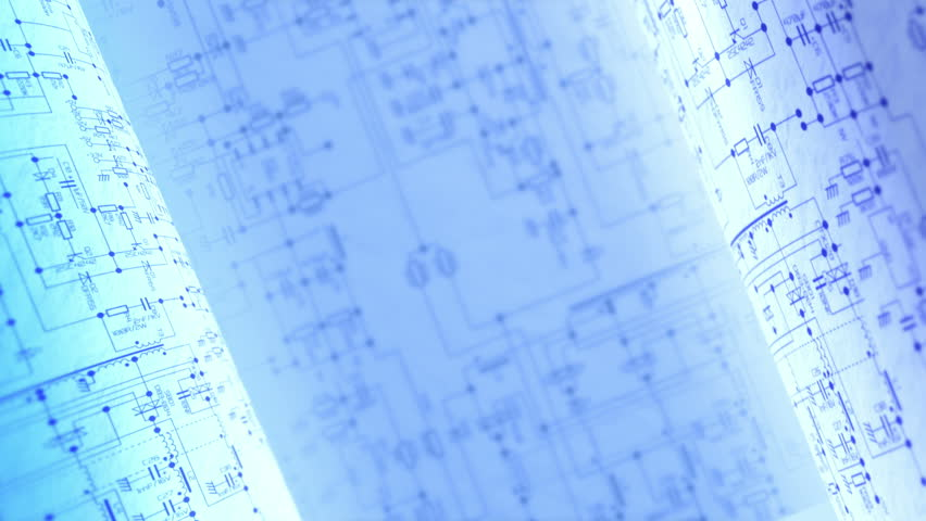 Circuit Diagrams. Electric / Electronic abstract background. Infinity loop. | Shutterstock HD Video #16220344
