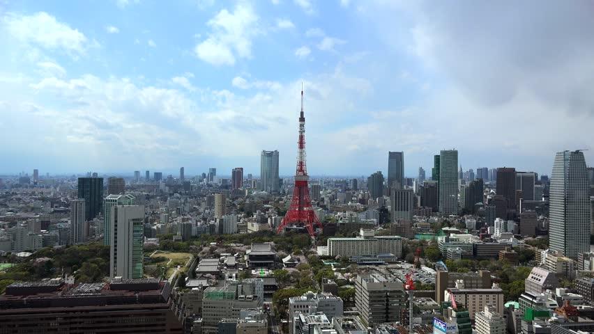 Metropolis,tokyo,japan, | Shutterstock HD Video #16260907