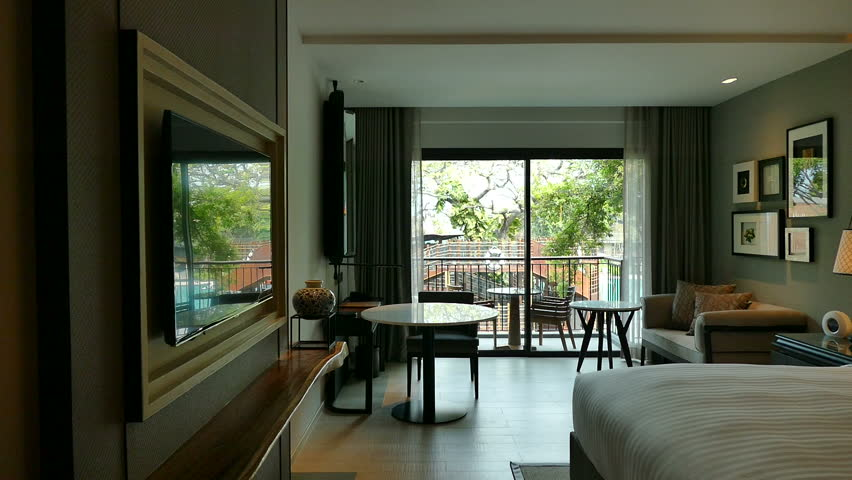 Panoramic Window On Eastern Garden, Mezzanine Loft, Living Room ...