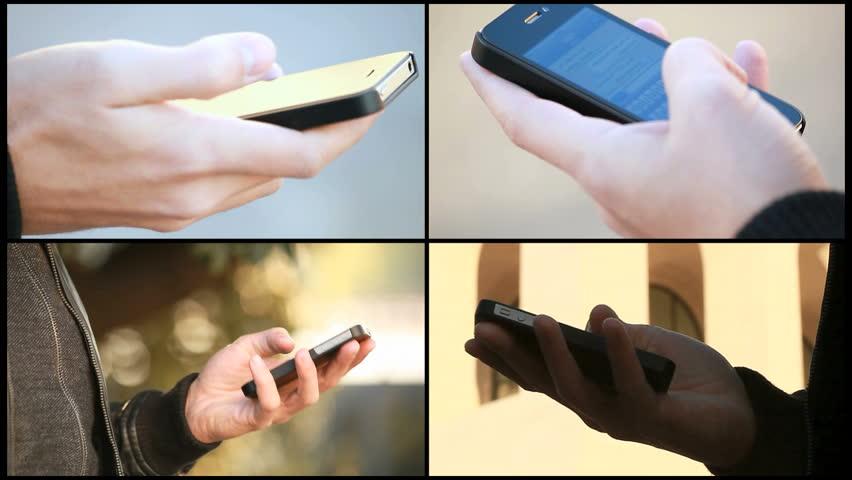 Smartphone composition | Shutterstock HD Video #1633327