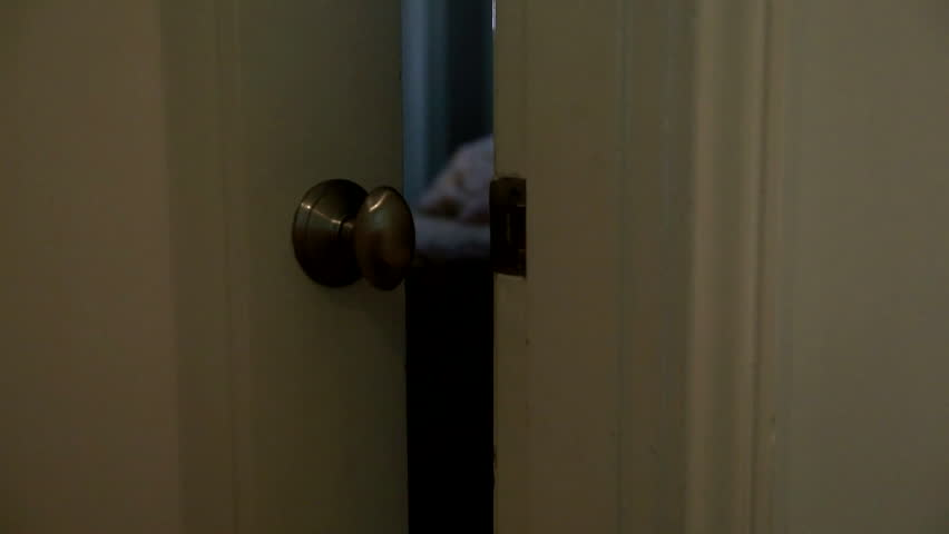 Close Up Bedroom Door Closes From Outside With Low Light Stock Footage Video (100% Royalty-free) 16374757 | Shutterstock & Close Up Bedroom Door Closes From Outside With Low Light Stock ...