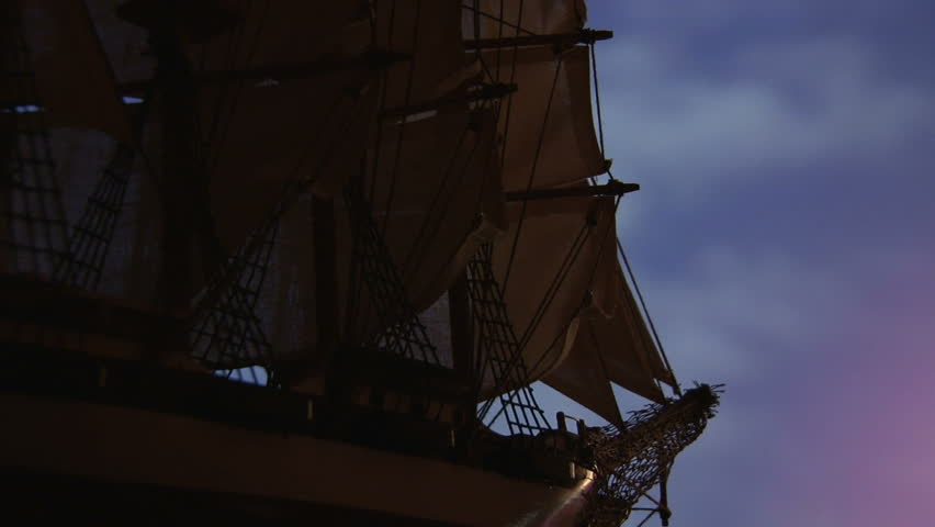 Sailing ship, discovery