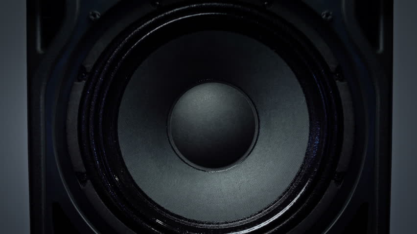 Detail of Animated Loud Sound Speaker | Shutterstock HD Video #16589845