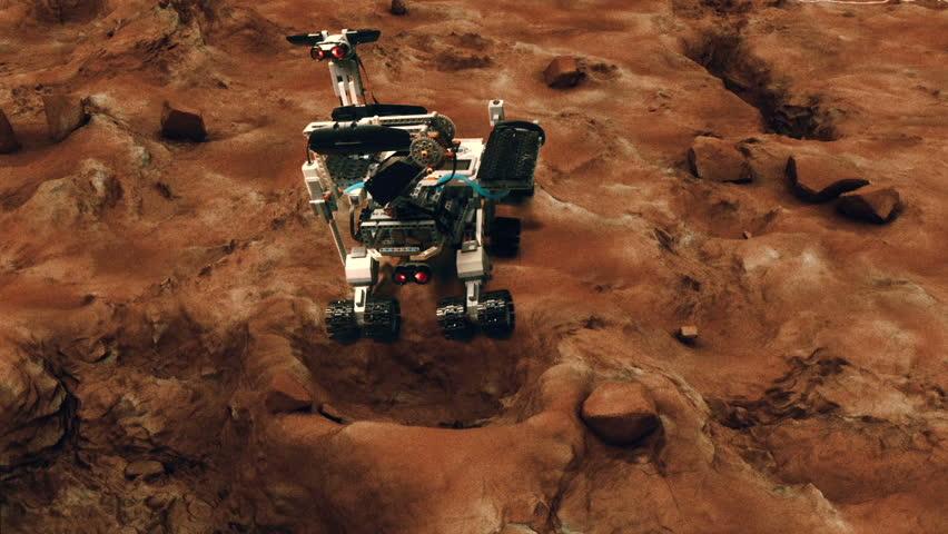 mars rover video - 852×480