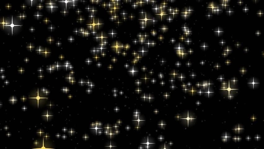 falling star animation loop stock footage video 7579246