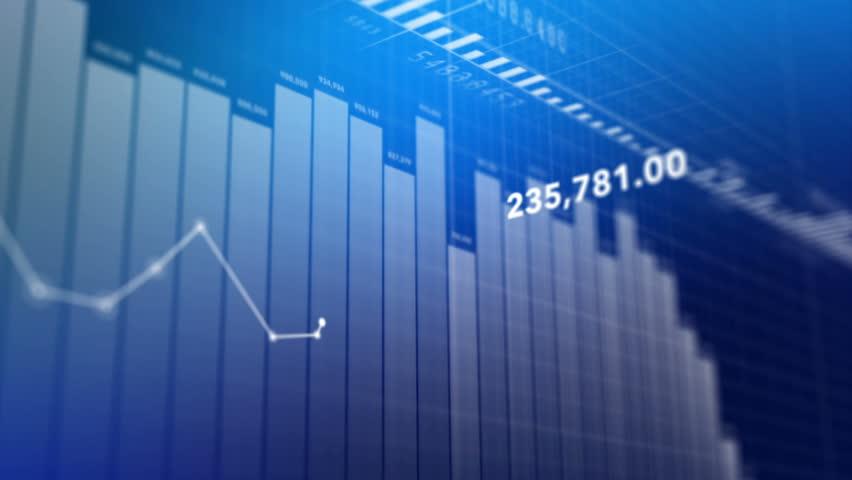 Charts and data.