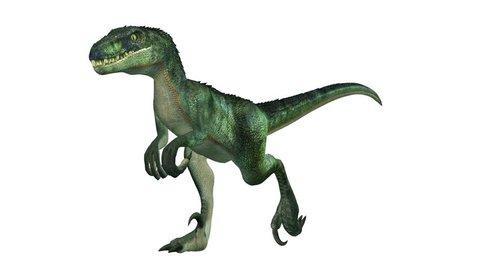 3D CG rendering of a dinosaur