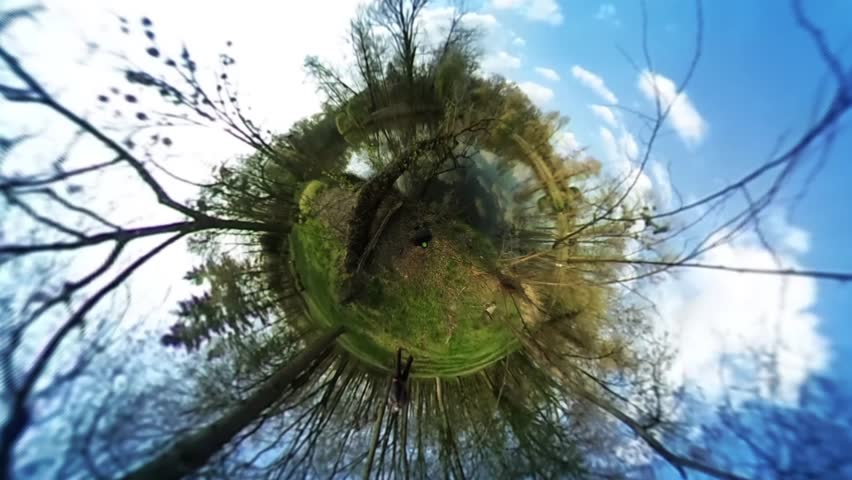 People in Green Park, Forest, Spherical Panorama Video, vr Video 360, Little Planet Video, Video For Virtual Reality, River or Lake is at the Forest, Fresh Green Trees and Grass, Sunny Day, People | Shutterstock HD Video #16765471