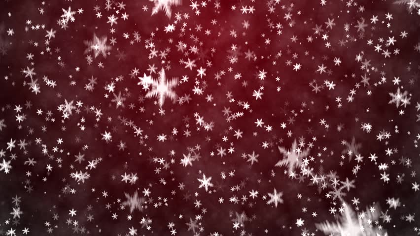 Christmas Background With Snowflakes Falling Snow Stock