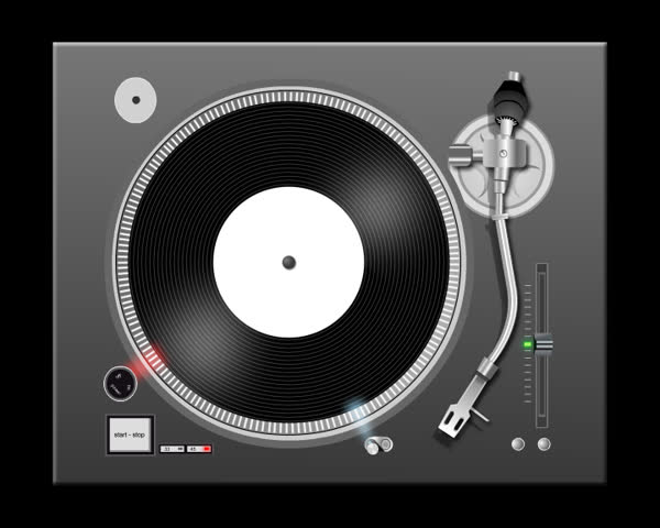2D turntable animation loop.
