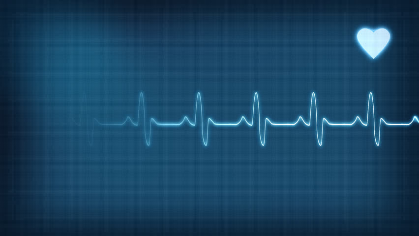 Heart pulse animation.