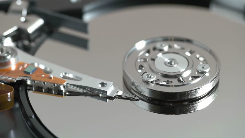Launch of the hard disk 1