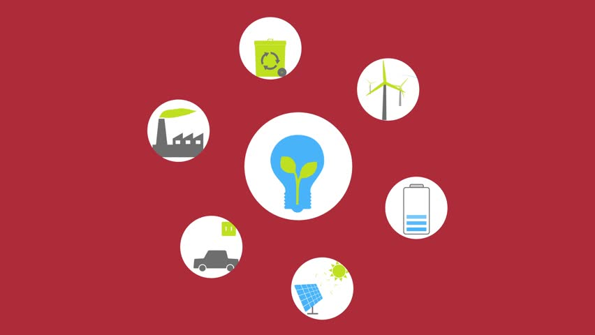 Green Energy Animated Icons and Stock Footage Video (100% Royalty-free)  16904287 | Shutterstock