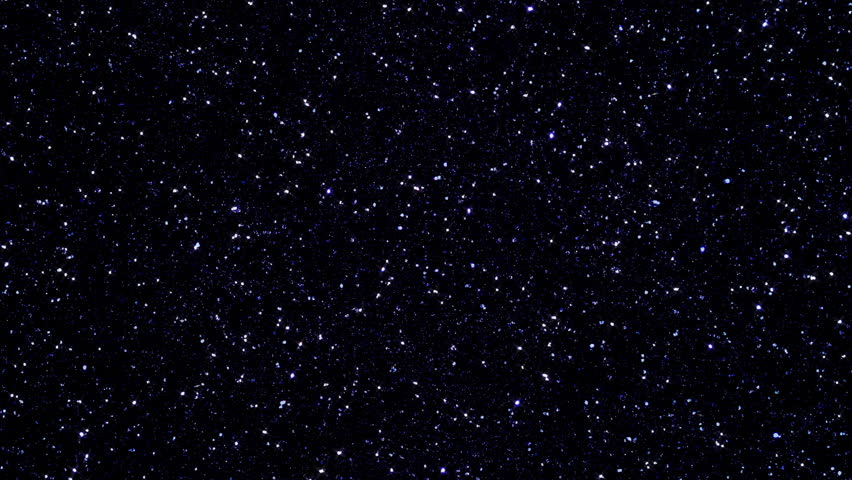 Abstract Blue Background With Stars On Black Background ...