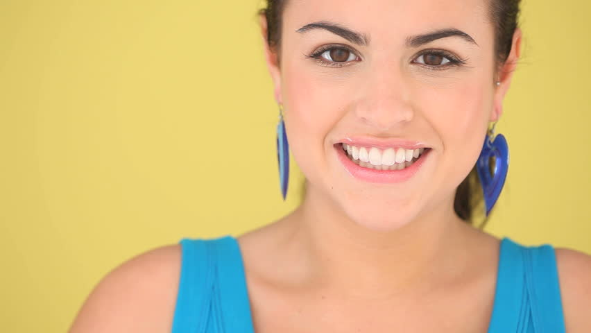 Lovely Smile Beautiful Teeth Cropped Closeup Of A Womans Face With Huge And Perfect In Dentistry Dentition Concept