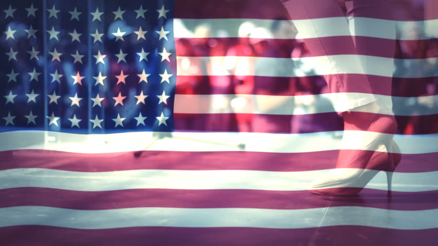 US Flag Stylized Grunge Flag Of United States Of America With - Hd us map background