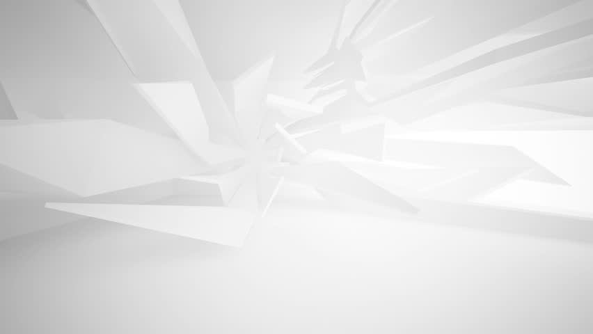 Abstract White Interior of the Stock Footage Video (100% Royalty-free)  17379007 | Shutterstock
