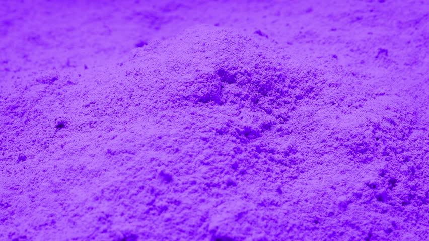 Purple Powder Rotating | Shutterstock HD Video #17381812